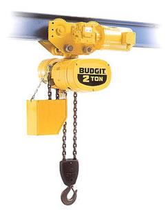 Budgit Single Phase Electric Hoists